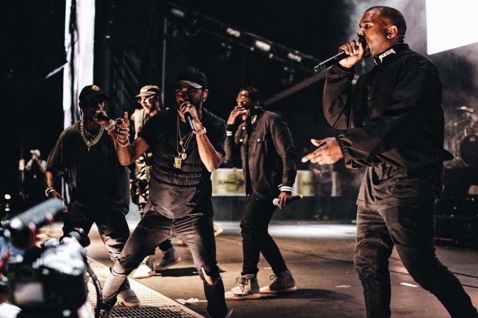 Kanye West Pusha T